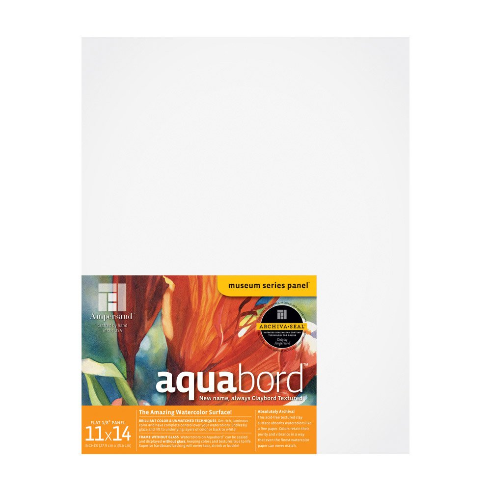 Ampersand Aquabord 1/8'' Flat Panel - 11x14'' by Ampersand