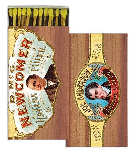 Vintage Matches - Vintage Style Cigar Box Matches | Havana Set 10 Antique