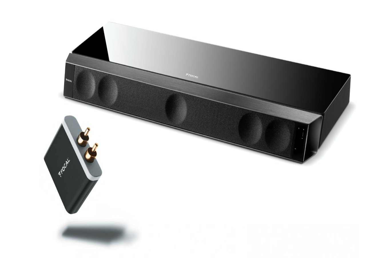 Focal Dimension 5.1 Soundbar Bundled with Focal Subwoofer & APT-X Bluetooth Receiver by Focal