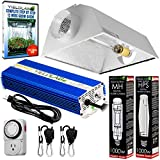 Yield Lab Horticulture 1000w HPS MH Grow Light Cool Hood Reflector Kit Easy Setup Full Spectrum System For Indoor Plants And Hydroponics – Free Timer and 12 Week Grow Guide DVD Review