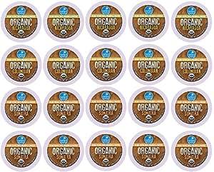 Coffee Variety Sampler Pack for Keurig K-Cup Brewers, Nanland Organic Samplers, 20 Count (Compatible with 2.0 Keurig Brewers)