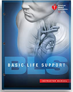 bls basic life support provider manual american heart association rh amazon com CPR Hand Out Printable CPR Pocket Guide