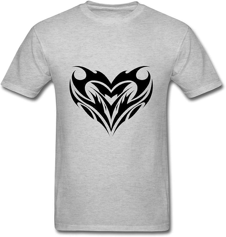 liguanjiang Hombres de Tribal tatuaje diseños arte T camiseta gris M: Amazon.es: Ropa y accesorios