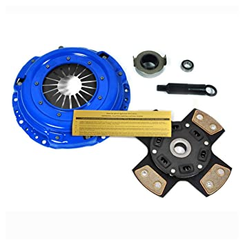 EFT 4-puck etapa 3 Kit de embrague 99 - 00 Honda Civic Si 94 - 97 del sol VTEC - B16: Amazon.es: Coche y moto