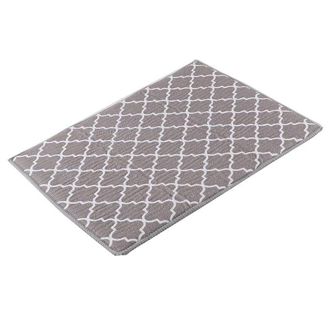 Escurreplatos de Microfibra Absorbente White Trellis 40 x 30 cm 2 Unidades SUREH 4 Packs