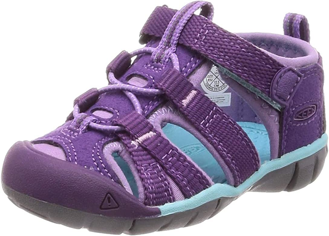KEEN Kids Seacamp II CNX Water Shoe, Majesty/Tibetan Stone, 4 US Unisex Toddler