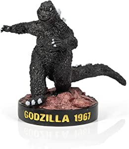 Godzilla 6-Inch Resin Statue - Collectible King of Monsters Figure Paperweight - Great Desk Decor, Home Shelf Decorations - Decorative Fantasy Figurine - Halloween, Birthday, Movie Monster Fan Gifts