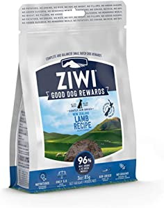 ZIWI Good Dog Rewards, Training Treats – High Value, All Natural, Grain Free, High Protein, Limited Ingredient
