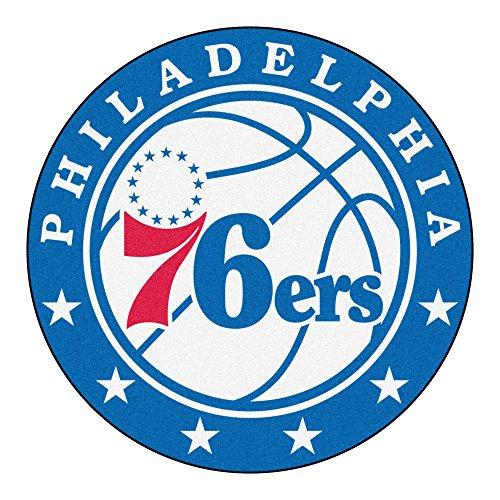 Fanmats Nba Mat - FANMATS 18848 NBA Philadelphia 76ers Roundel Mat