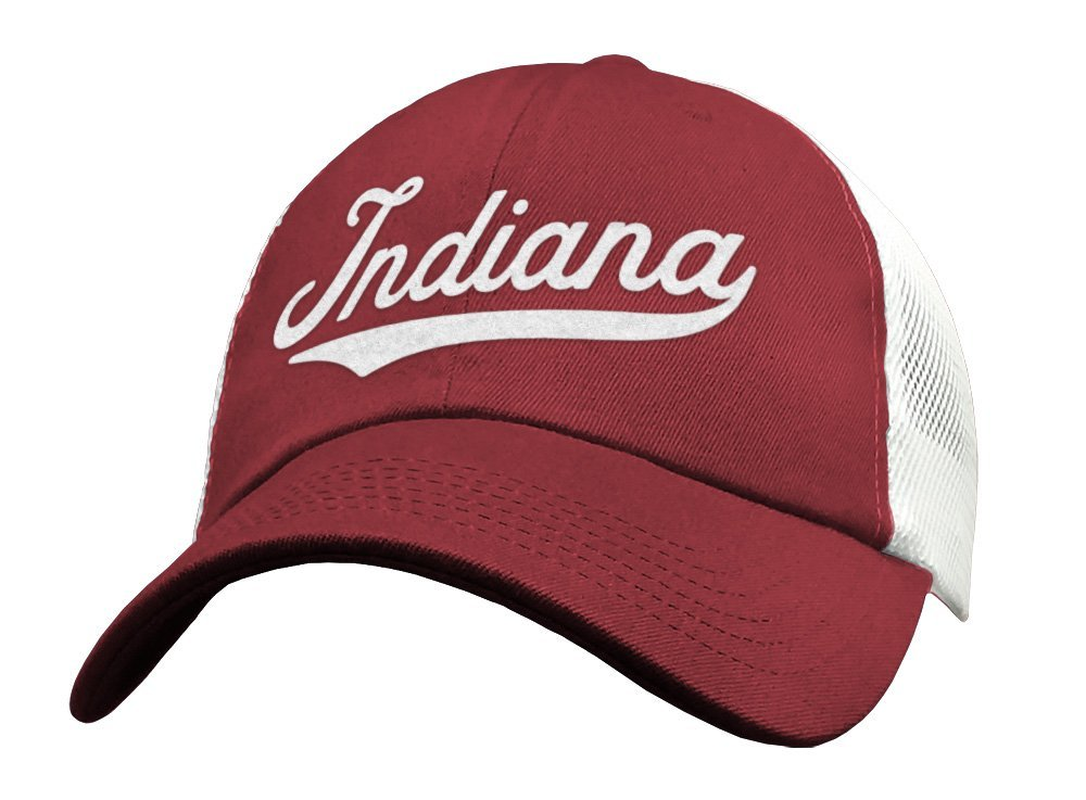 best website abda5 476d3 ... where can i buy amazon state of indiana baseball hat trucker cap sports  mesh low profile