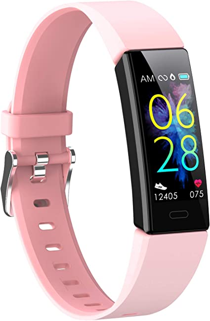 Smartwatch Pulsuhr Blutdruck Fitness Armband Damen..