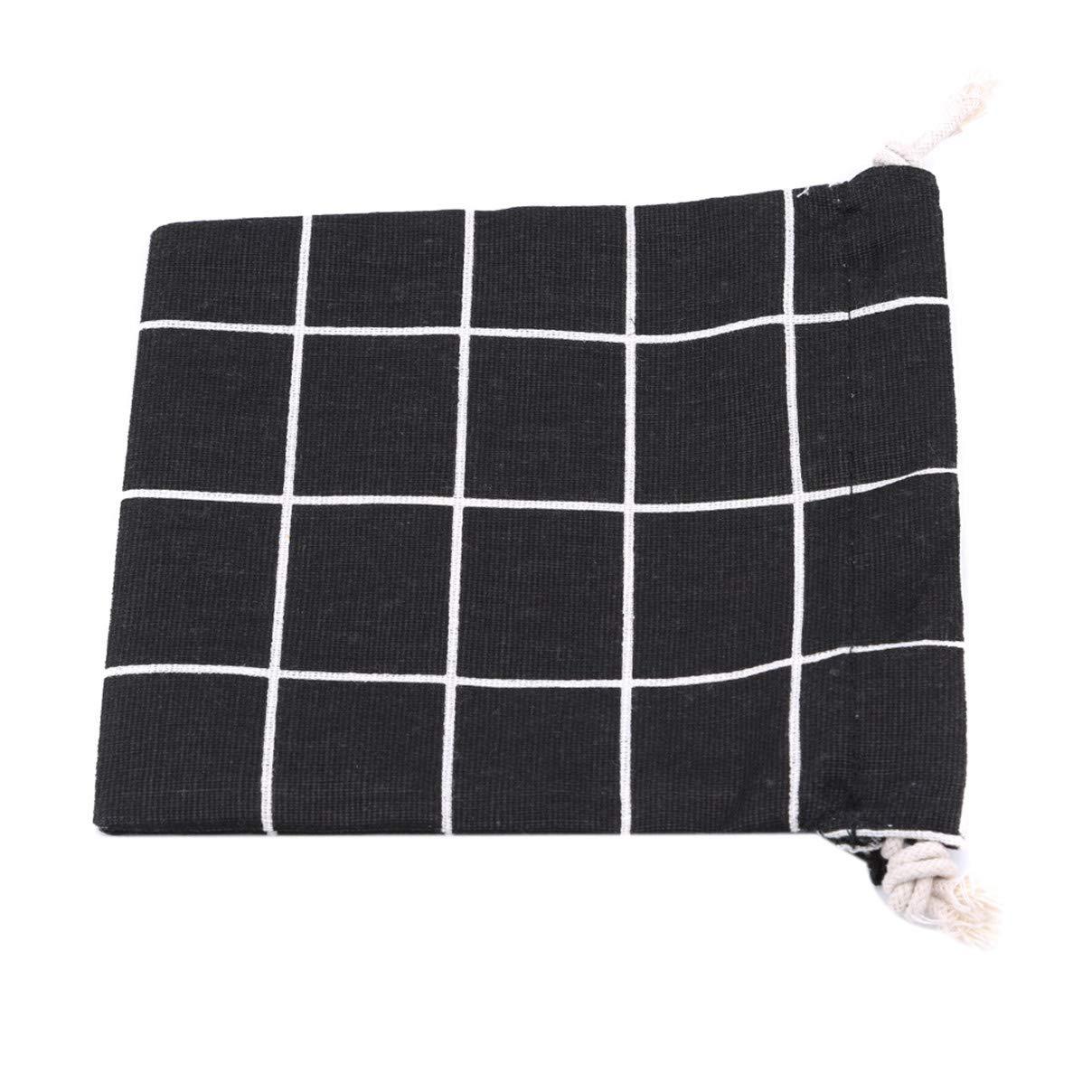 Essencedelight Storage Pouch Bag Unisex Dust-Proof Drawstring Handbags Reusable Cotton Linen Travel Bags for Tea Favor Gift