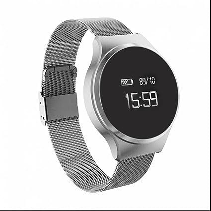 Brazalete de fitness Pulso Relojes Deportes reloj podómetro fitness Tracker Tensiómetro Smart Pulsera con dormir Monitor