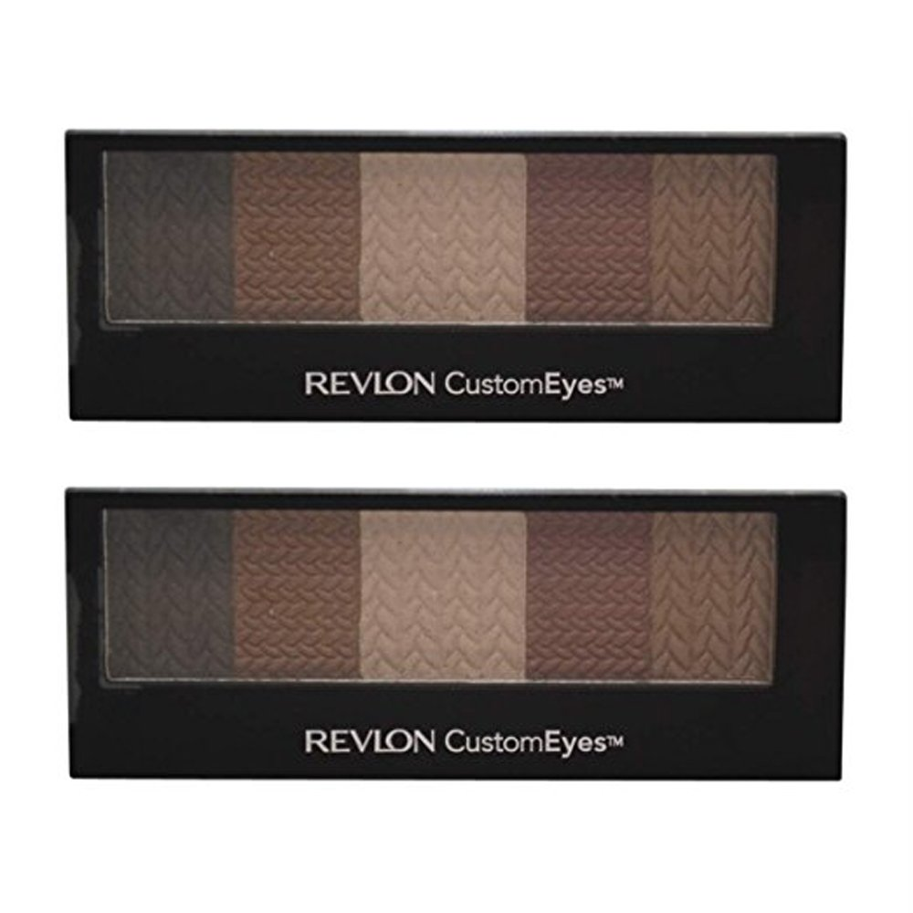 Revlon Customeyes Shadow and Liner, Naturally Glamorous, 0.20-Ounce (Pack of 2)