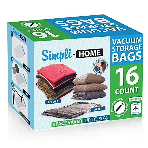 52% off  16 Pack vacuum storage bags
