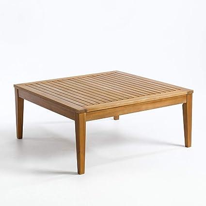 Redoute PM Table de Am Jardin en d'acacia Bois Basse La byY76fg