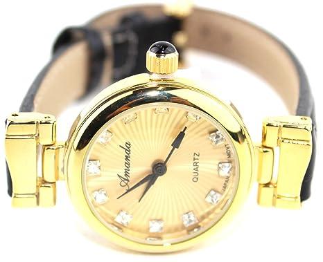 Amazon.co.jp: アマンダ Amanda 腕時計 レディース クラシック