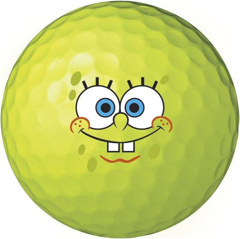 Wilson Sponge Bob Golf Balls 6 Pack: Amazon.es: Juguetes y juegos