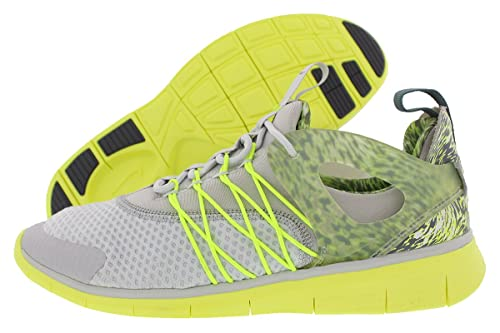 1c19a7abc86e ... promo code for nike free viritous print qs womens running sneaker 6.5  yellow grey 71db8 4ba60