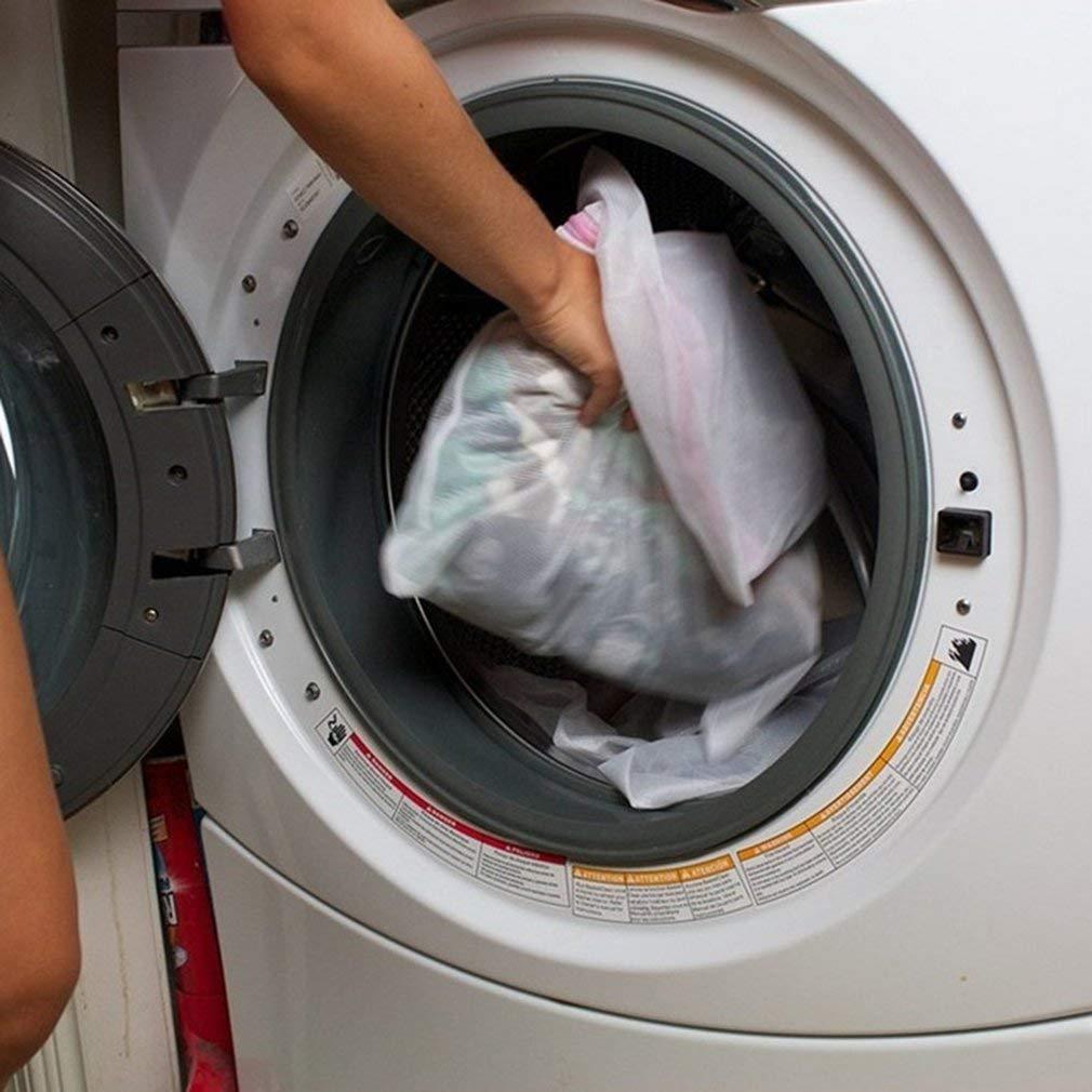 rojo de malla bolsa de lavado bolsa de lavander/ía bolsa de limpieza de sujetador. bolsa de lavander/ía Bolsa de lavado de ropa interior