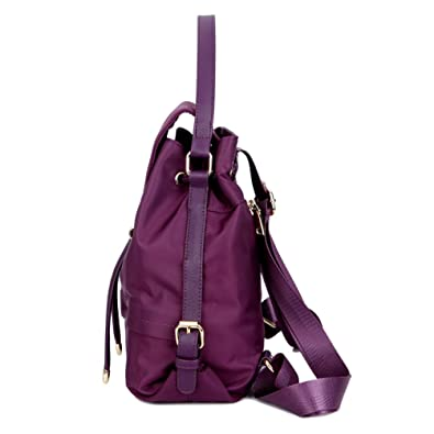 TOPSHINE Women Mini Backpack Purse Small Turnlock Tie (PURPLE)  Amazon.ca   Shoes   Handbags fe6a22d486400