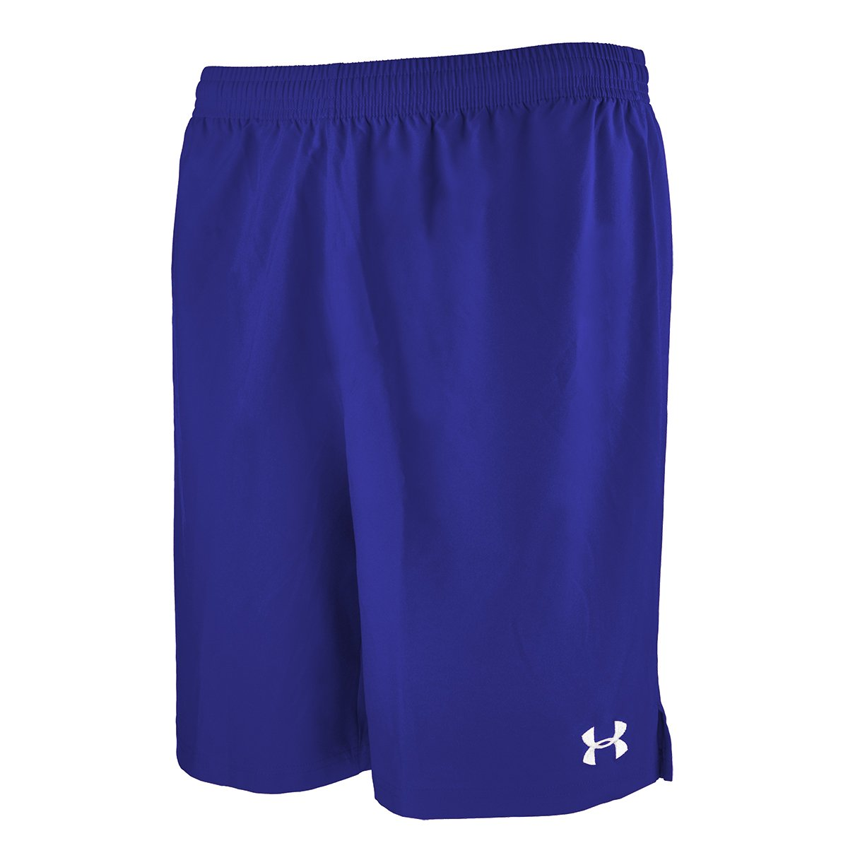 Under ArmourメンズHustle Soccer Shorts B00Y2T67MU Medium|ロイヤル ロイヤル Medium