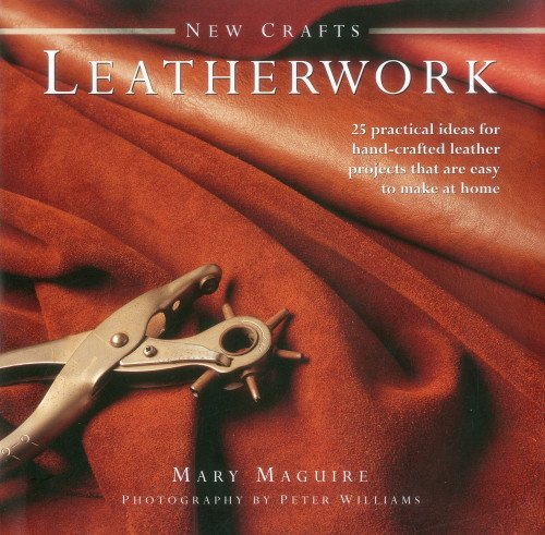 New Crafts: Leatherwork: 25 practical ideas for hand-crafted leather projects that are easy to make at home by imusti (Image #2)