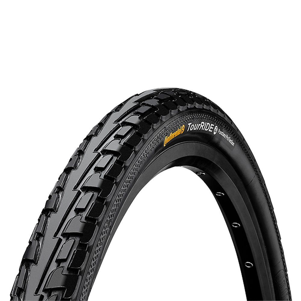Continental Ride Tour City/Trekking Bicycle Tire, 27x1-1/4