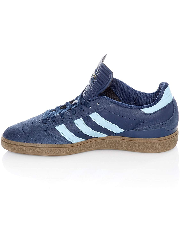 Zapatos Adidas Busenitz Collegiate Azuloscuro-Clear Azul-Gum5 EU 40.5 // US 7.5, Azuloscuro