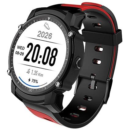 PINCHU Smart Watch FS08 Reloj GPS con Modo De Ritmo Cardíaco Multi-Sport Reloj De Control Remoto IP68 Waterproof Smartwatch para Android iOS