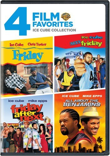 4 Film Favorites: Ice Cube (All About the Benjamins, Friday, Next Friday, Friday After Next) (Christmas Buddies Door Next)