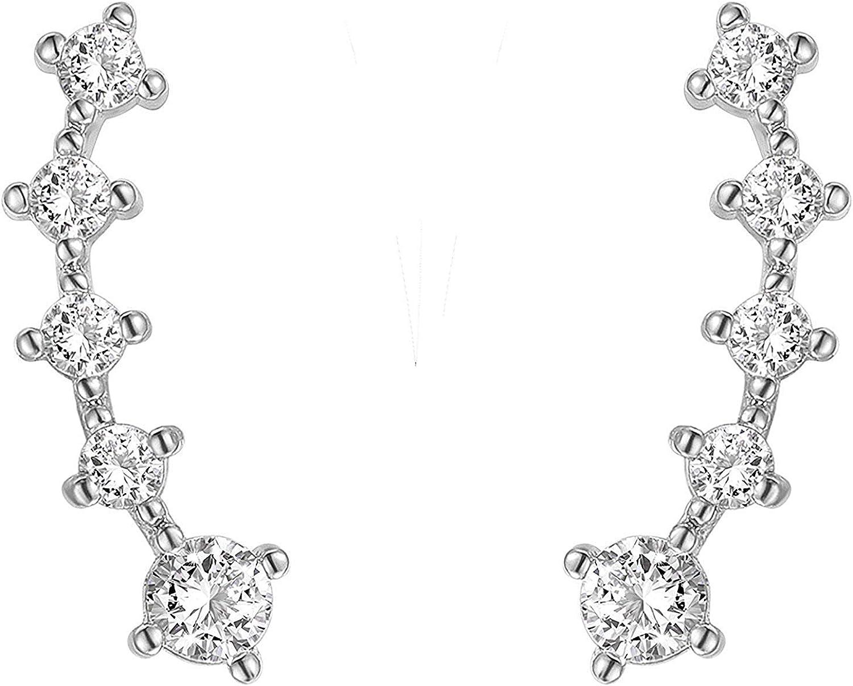 Pearl Earrings With 14K...