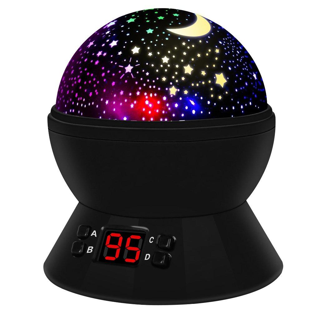 Regalos para Niños Lámparas Infantiles Regalo de Navidad Proyector Estrella Grados de