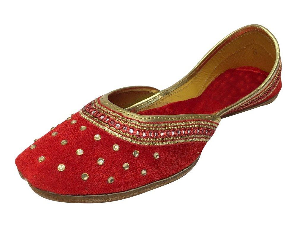 Step n Style Punjabi Jutti Flat Shoes Wedding Shoes Khussa Shoes Indian Shoes Juti