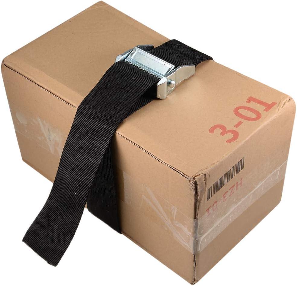 Sourcingmap Correa de carga para viaje con hebilla de bloqueo de leva carga de trabajo de 500 kg