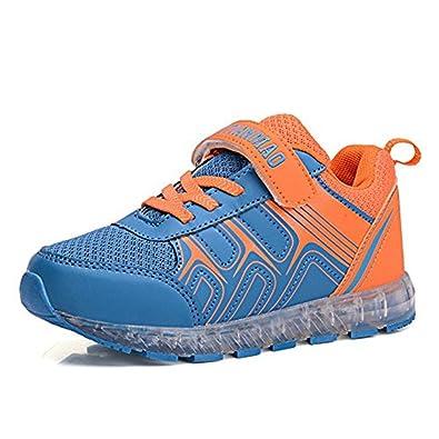 253c8b9bf30cb Amazon.com | coollight USB Charging Light Up Shoes Sports LED Shoes ...