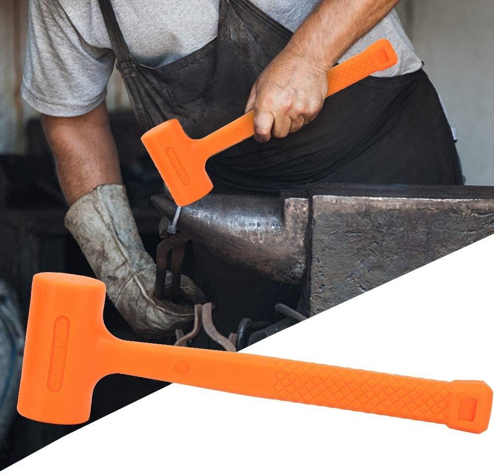 0,5 lb//1 lb PVC Marteau en Caoutchouc Maillet en Caoutchouc Outil dInstallation Maillet en Caoutchouc /à Soufflage 0.5LB