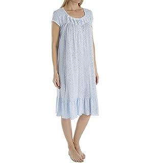 3a11cfba2b Eileen West Womens Cotton Sheer Jersey Waltz Nightgown