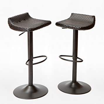 deco woven outdoor barstool set by rst brands - Rst Brands