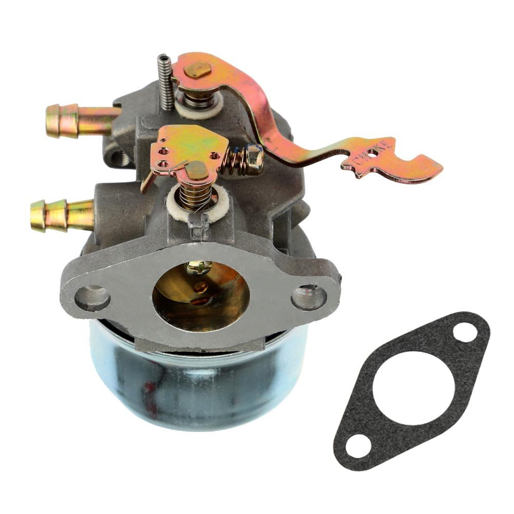 New Carburetor w/Gasket for Tecumseh 640305 640340 640346 640306A 640222A 640060A Fits OH195EA OHH50 OHH55 OHH60 OHH65 by FitBest