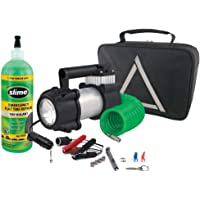 Slime 50063 Truck Spair Heavy Duty 12-Volt Inflator & Tire Repair Kit
