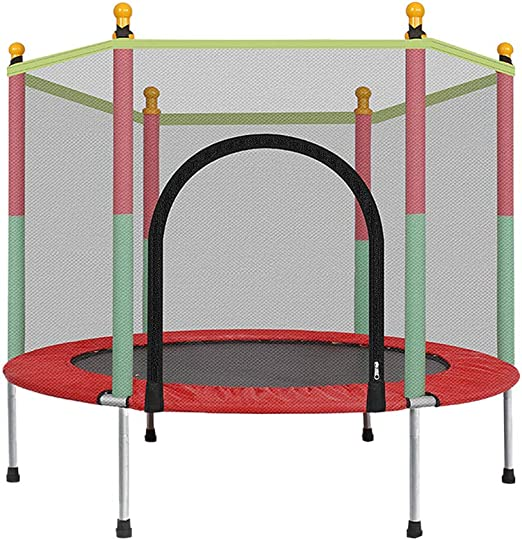 5 FT Kids Trampoline Safety Net Enclosure Jump Exercise Indoor Outdoor Toddlers