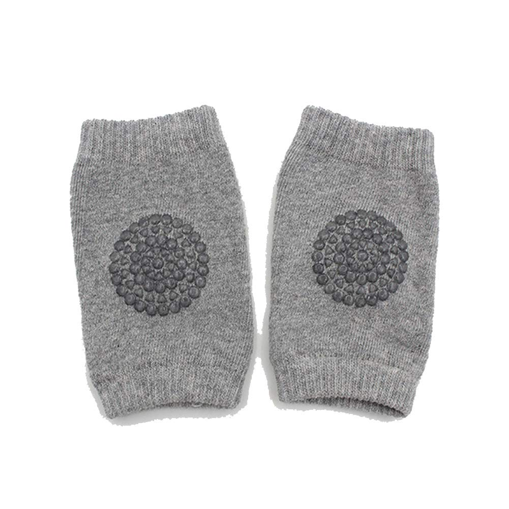 Wonderful Safety Crawling Elbow Cushion with Light Gray Leg Warmers Knee Support Protector 1 Pair