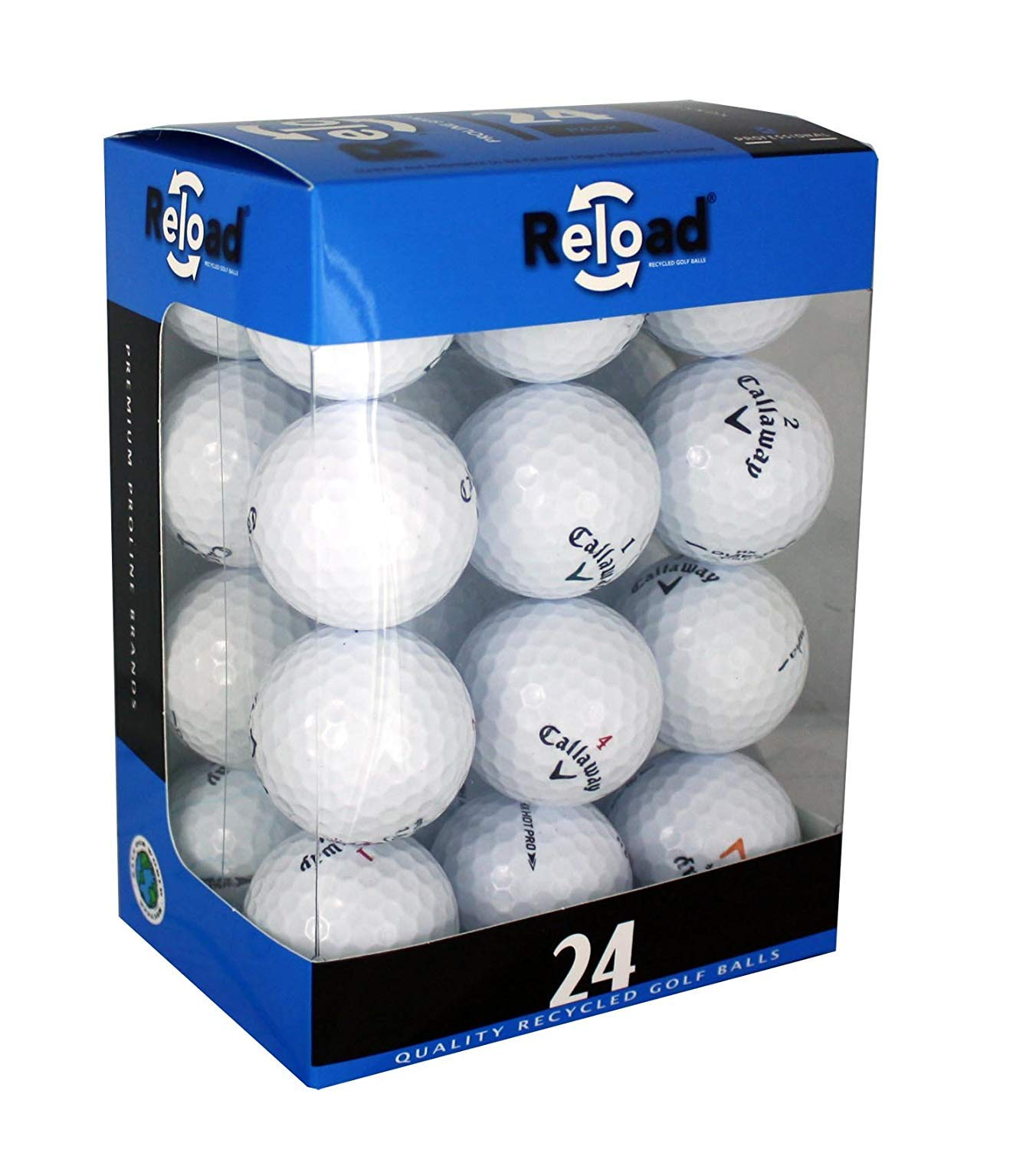 Reload Recycled Golf Balls (24-Pack) of Callaway Golf Balls by Callaway