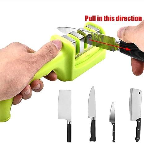 Amazon.com: Yzpyd Whetstone QIJ - Afilador de cuchillos ...