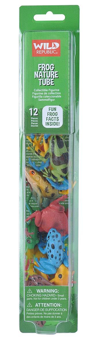 Wild Republic Europe 32 Cm Nature Tube Frog Playset