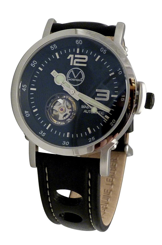 Die Culinary Armbanduhr automatisch mit Schwarz Leder Racing Gurt