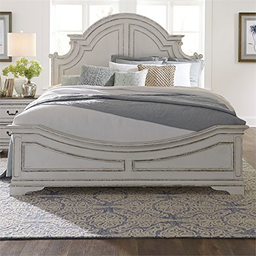 Liberty Furniture Magnolia Manor King Panel Bed by Liberty Furniture