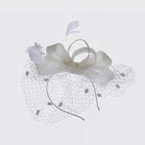 LOPILY Sombrero de Elegante Fiesta Precioso Sombreros Accesorios ...