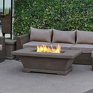 Amazon.com : Fire Pit Table Monaco 55 in. Propane Gas